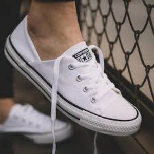 Converse Chuck Taylor Low Top White Shoes